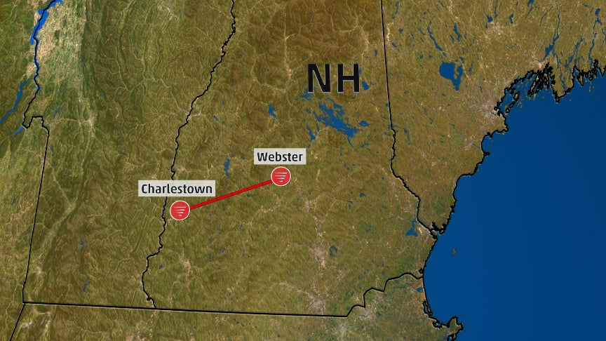 May 4 New Hampshire Tornado Was One of New England's Longest on Record, NWS Says