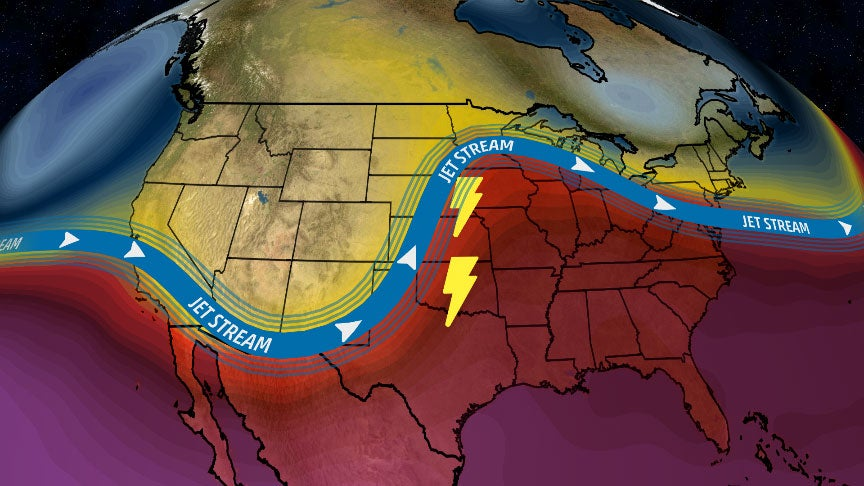 Severe Weather to Return to Plains Friday Into Early Next Week With Tornadoes, Hail, Damaging Winds, Flooding Rain | The Weather Channel