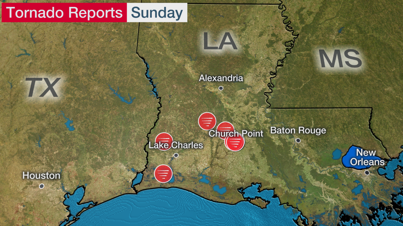 Possible Louisiana Tornado Kills One, Injures Several as It Flips Mobile Homes and Tractor-Trailer