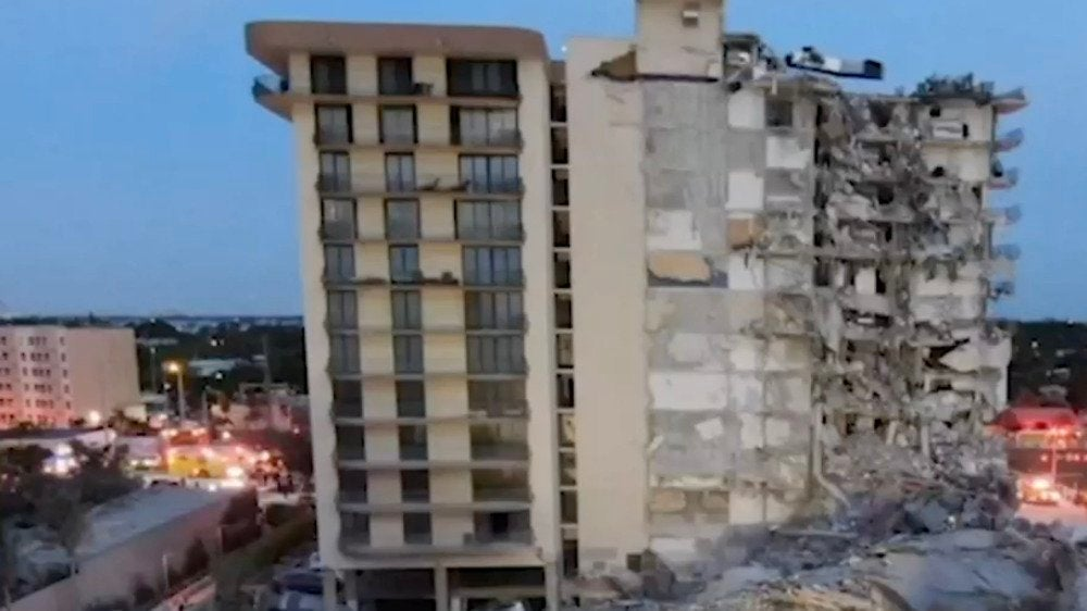 Experts: Collapsed Miami Condo Was Sinking