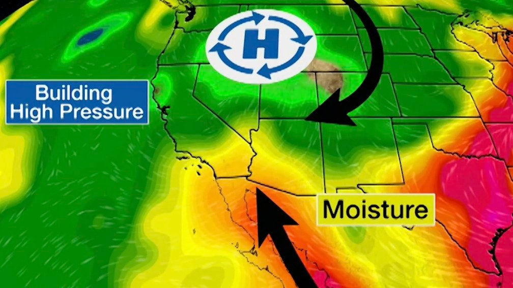 Some Much-Needed Rain Forecast for the Southwest