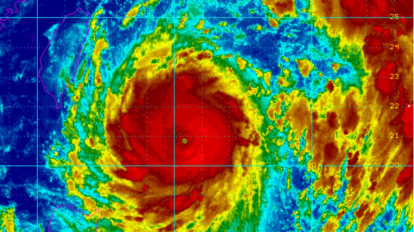 Typhoon Alley: Where the Planet's Most Intense Tropical Cyclones Most Frequently Happen