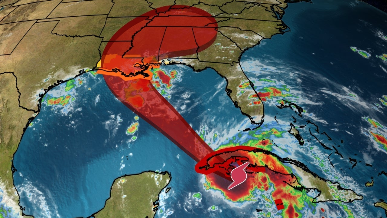 Hurricane Ida Rapidly Intensifying Near Cuba; Forecast To Slam Gulf Coast  As A Major Hurricane Sunday   The Weather Channel - Articles from The  Weather Channel   weather.com