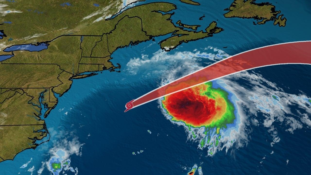Tropical Storm Odette Producing Dangerous Waves on Atlantic Coast