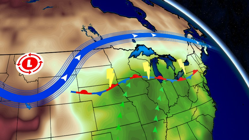 More Heavy Rain, Severe Storms to Soak Flood-Weary Midwest ...