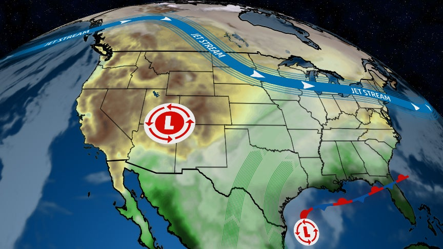 More Days of Rain Ahead for Texas and Southern Plains, Adding to One of the Wettest Starts to Fall on Record
