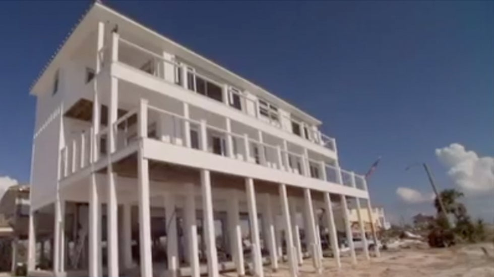 Homeowner Explains How Mexico Beach Home Withstood The One Weather Channel