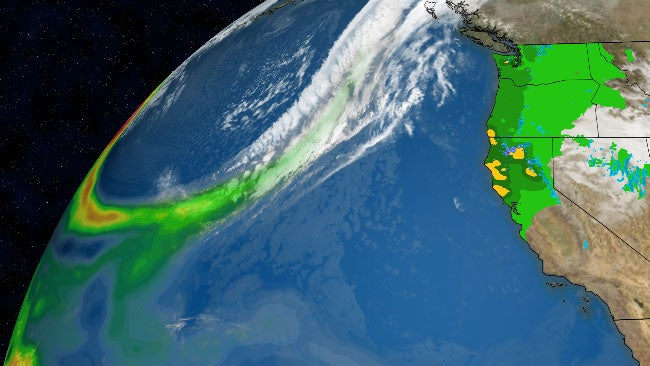 California, Northwest Drought Relief Ahead from Pacific Atmospheric River Pattern, But Also a Debris Flow Threat | The Weather Channel - Articles from The Weather Channel | weather.com