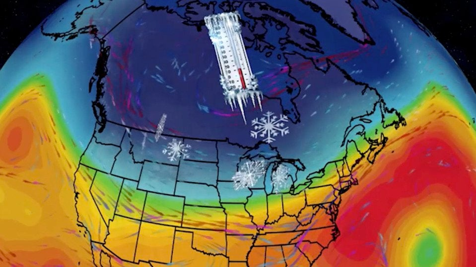 Brutal Cold and Snow for Large Part of U.S.
