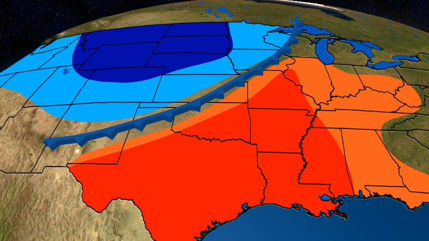 A 'Blue Norther' Is Headed Into the Plains Late This Week; Here's What That Is