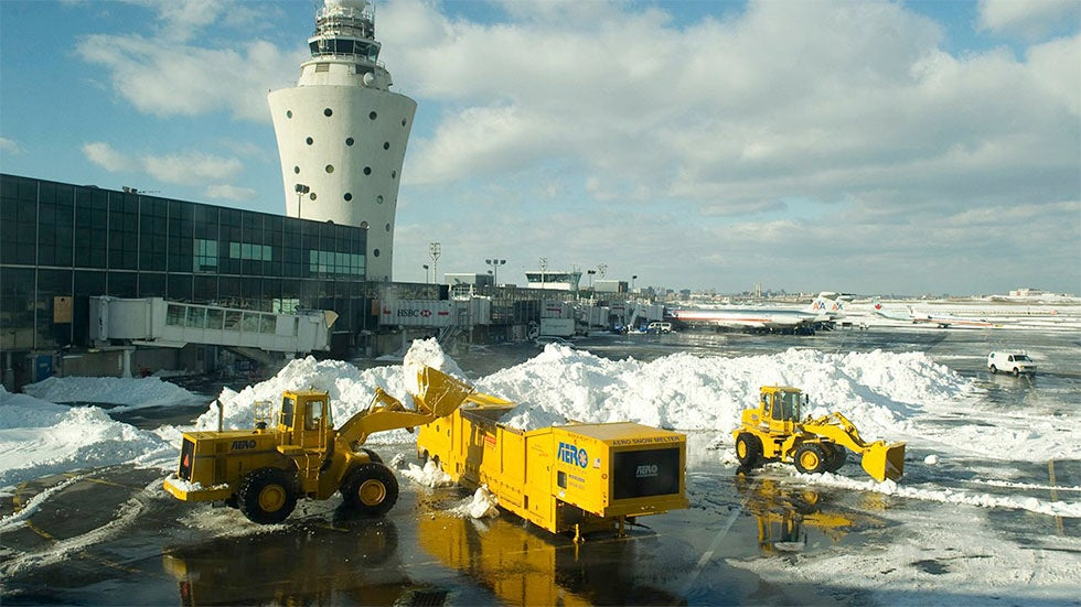 America's 10 Most Weather Delayed Major Airports