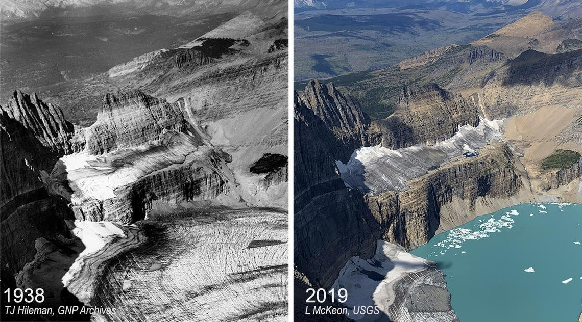 Glimpses of World's Glaciers Affected Due to Climate Change (PHOTOS)