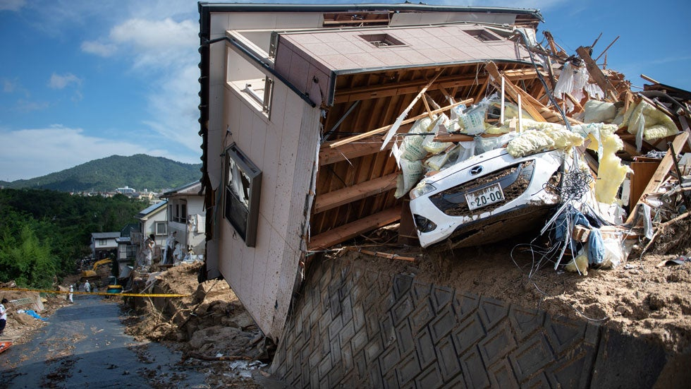 Japan Flooding, Mudslides Kill More Than 100; Dozens Still Missing