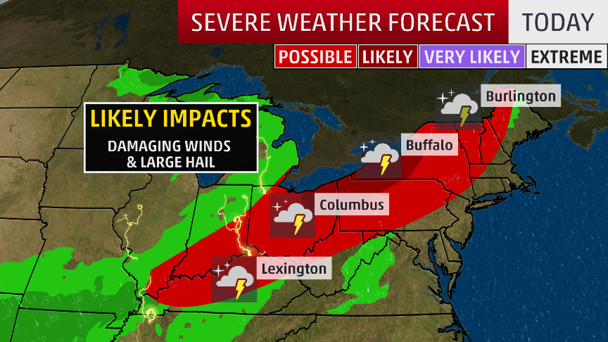 Severe Weather Threat Continues Friday