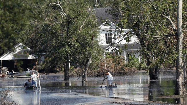 louisiana community a ghost town a year after hurricane
