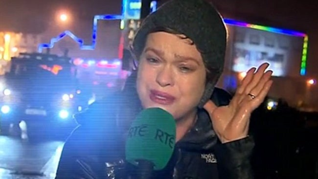 irish tv reporter powers through storm desmond  becomes internet sensation