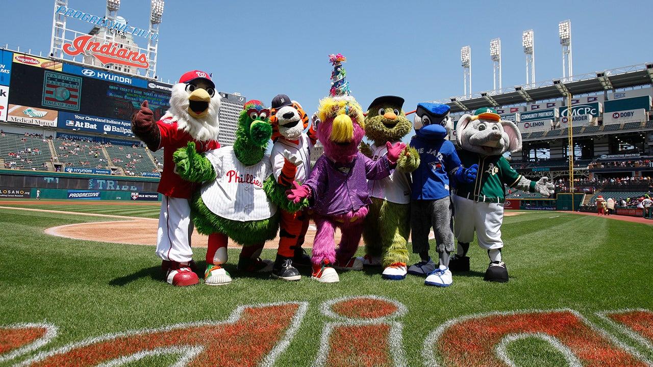 Wackiest Official MLB Mascots (PHOTOS)