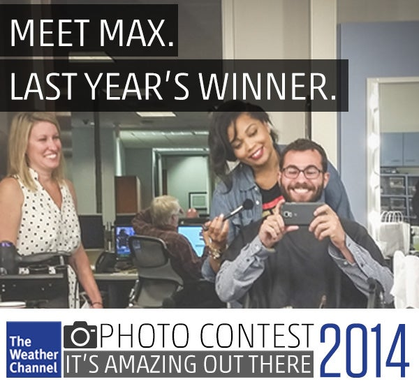 Meet Max, the 2014 Photo Contest winner!