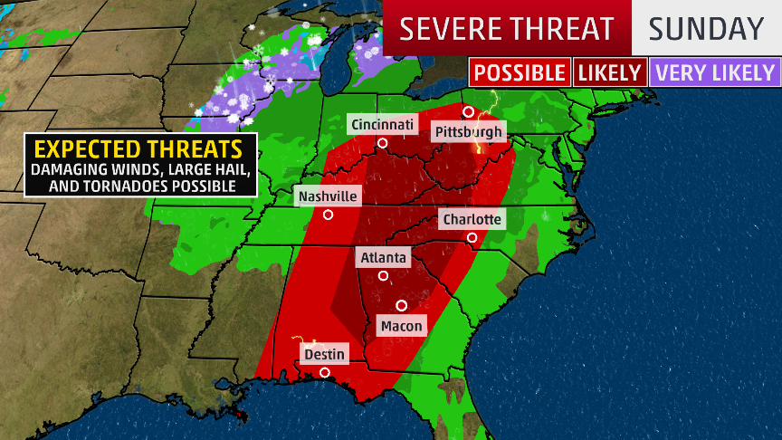 storms cause damage  down trees in ohio valley  tornadoes