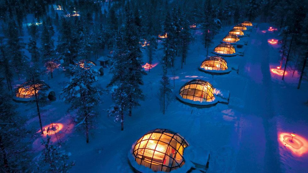 Coolest Ice and Igloo Hotels of the World (PHOTOS)