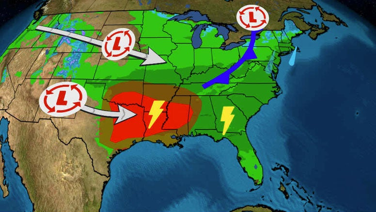 Here Are 3 Storm Systems We're Watching in the Week Ahead