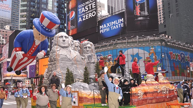 Favorite Macy's Thanksgiving Day Parade Floats