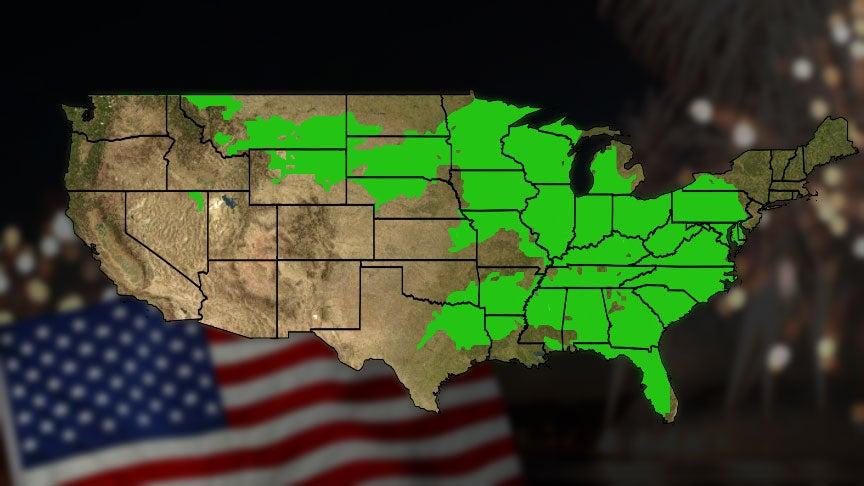 USA National Forecast - weather com