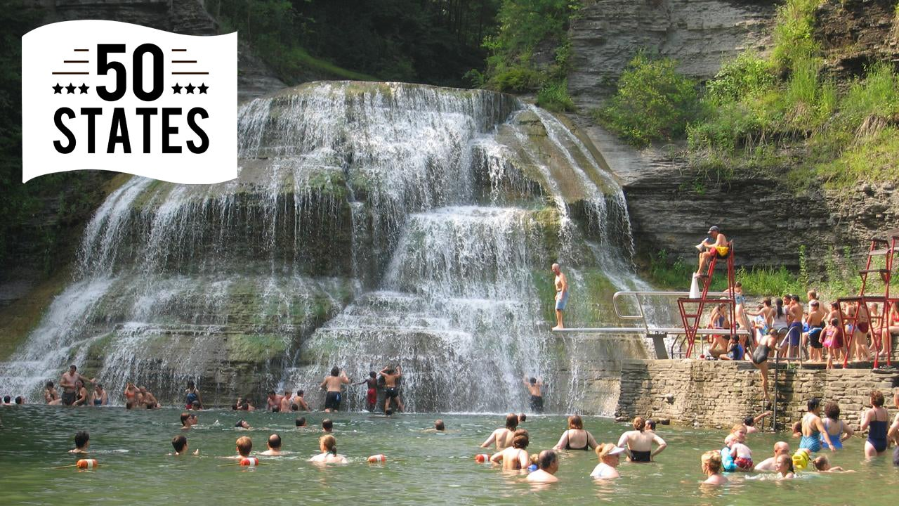 best swimming spot in every state photos the weather channel