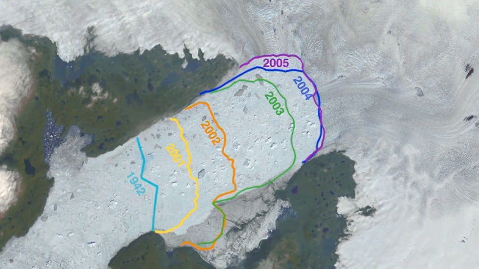 Greenland Glacier Reverses Course, Scientists Stunned