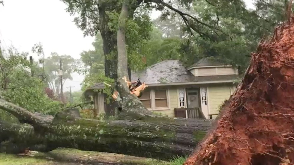 Carolinas Hit by Deadly Storms