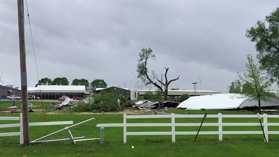 Truck Shows Near Me >> Tornadoes Strike Iowa, Minnesota: Fairgrounds Damaged ...