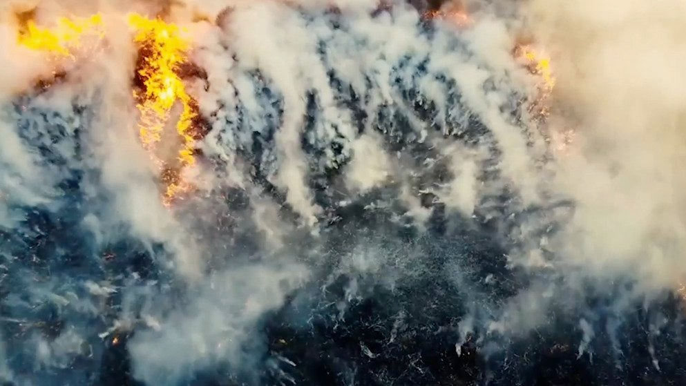 Zombie Fires Reignite in Arctic