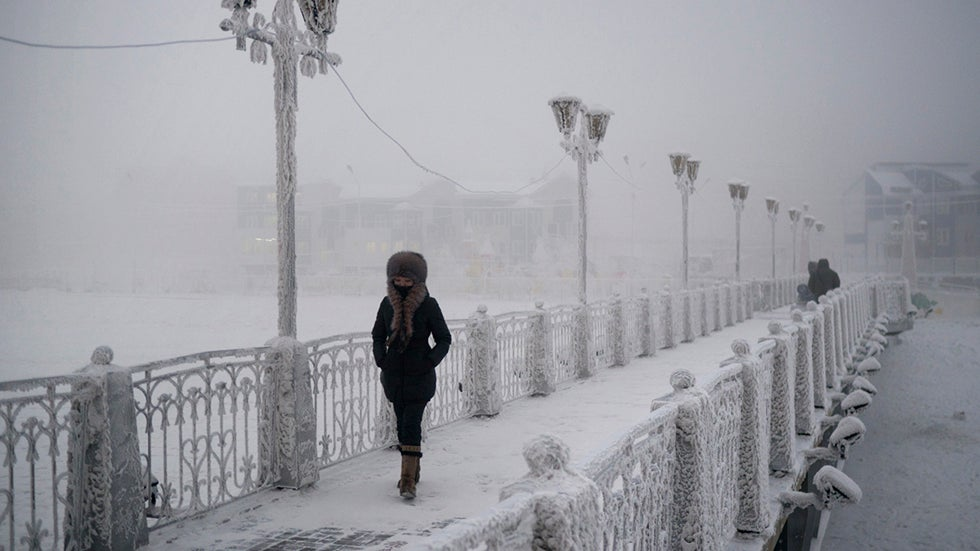 Breathtaking Photos of the Coldest City in the World