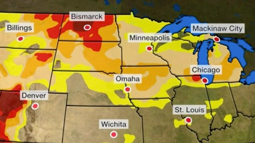 Will Rain Help Drought in the Midwest? Not Likely