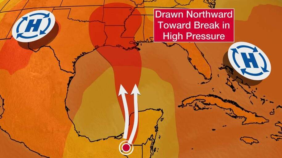 Cristobal Will Track Toward The Gulf Coast This Weekend