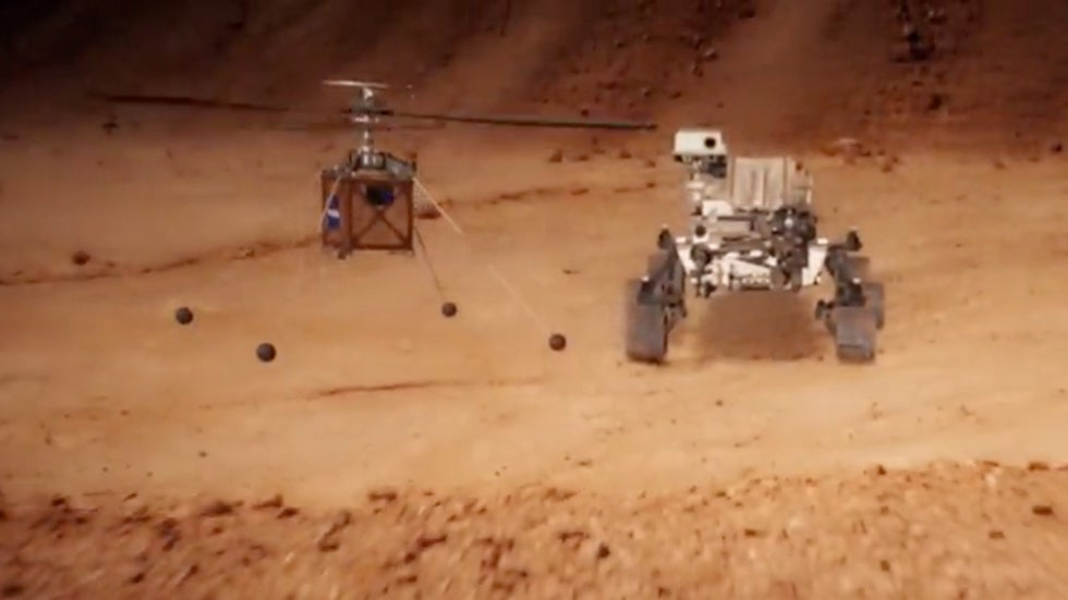 NASA's Mars Helicopter Getting Ready for 2020 Launch