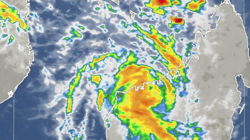 tropical cyclone hellen  worst case scenario avoided in