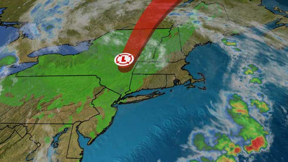 Fay Drenches New England with Heavy Rain