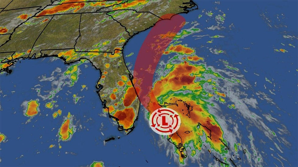 Tropical Depression Three Forms Off Florida