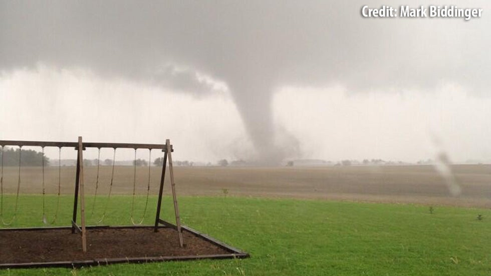 cedarville  ohio tornado  ef3 tornado confirmed  farmstead