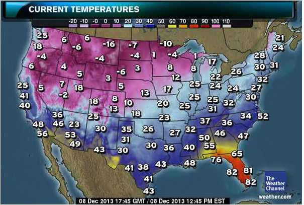 Florida 39 s warm weather leaves the rest of america jealous for Warmest florida beaches in december