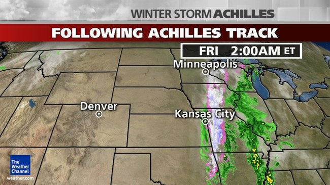 Winter Storm Achilles: Historic May Snow