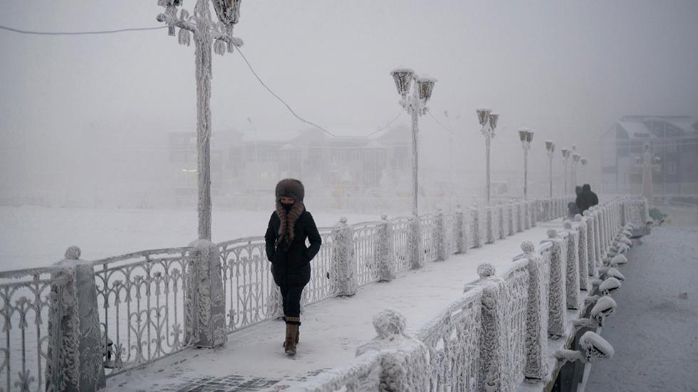 Die kälteste Stadt der Welt: So leben Menschen bei minus 50 Grad