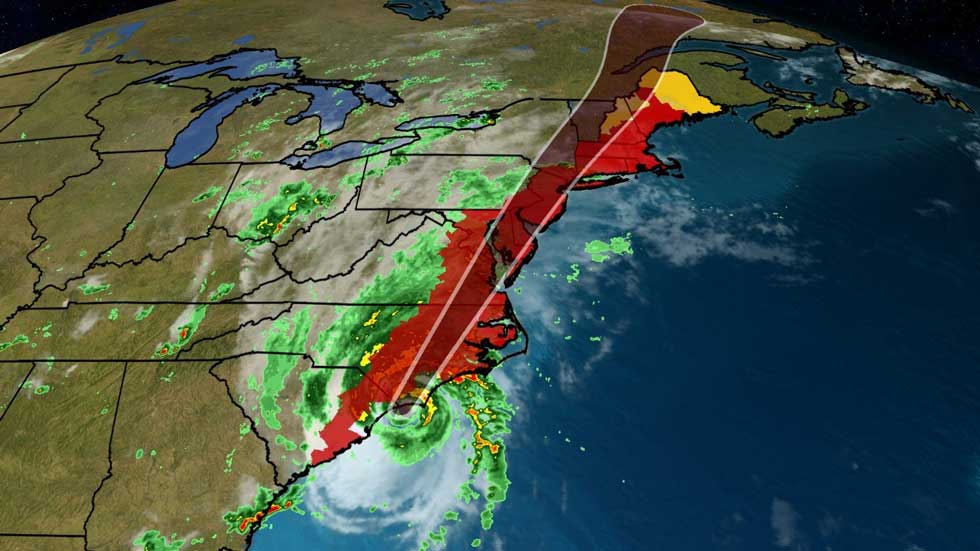 Hurricane Isaias to Make Landfall Soon in North Carolina