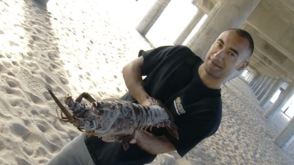 Massive Lobster Caught in Southern California
