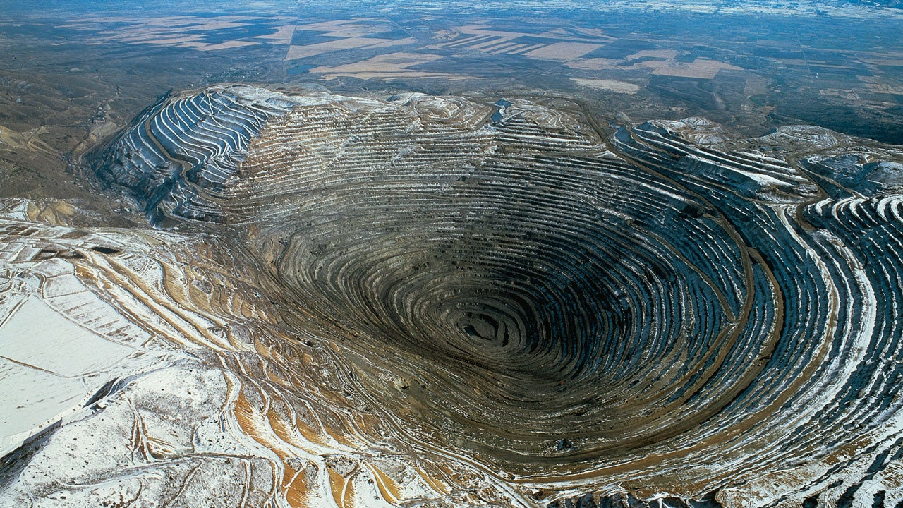 utah u0026 39 s bingham canyon mine  one of the world u0026 39 s biggest man