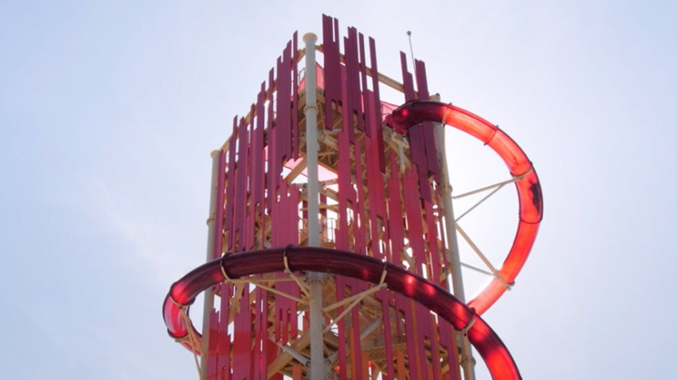 Tallest Waterslide in North America Towers Over the Bahamas