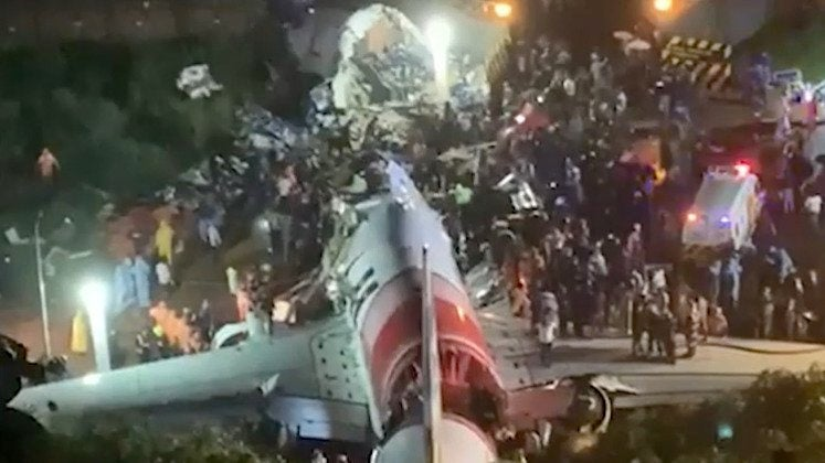 Plane Skids off Rainy Runway in India, Leaving at Least 16 Dead