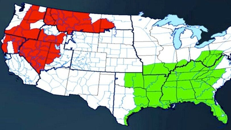 Where Can We Expect Wildfire Danger Over the Next Few Months?