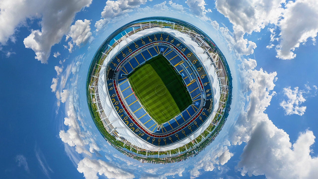 2018 FIFA World Cup Stadiums from Above (PHOTOS)